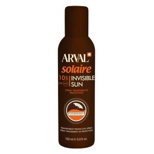 ARVAL Solaire Invisible Sun Spray Trasparente Protettivo Spf 10 Bombola 150 Ml