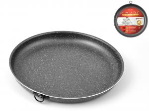 BIALETTI Teglia Antiaderente Newtrudi Tonda Bassa Cm26 Pentole Cucina