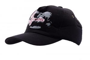 ARNETTE Cappello con frontino unisex nero 022919 cotone graffito rosso