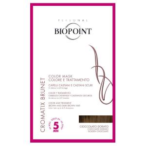 BIOPOINT Color Maschera Cioccolato Dorato Tinta Colore Per Capelli