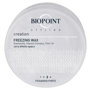BIOPOINT Freezing Wax Fissaggio Forte Effetto Ghiaccio 100 Ml