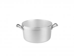 AGNELLI Casseruola alluminio alta family 2 manici cm18 Pentole Cucina