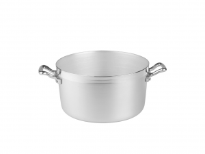 AGNELLI Casseruola alluminio alta family 2 manici cm22 Pentole Cucina