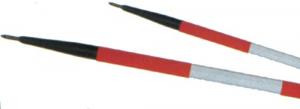 Palina Plastica Cm 160 Mm 28 - Bianca-Rossa Edilizia Segnaletica Sicurezza
