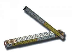 Set 10 Doppiometro Legno Stabila Con Molle Utensileria Manuale