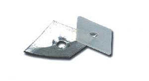 Set 200 Rondella Plast Romboidale E-100 Bulloneria-Viteria-Chiodi Filettati