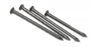 Set 5 Chiodi Ferro Testa Piana 20X100 Recinzioni-Chiodi