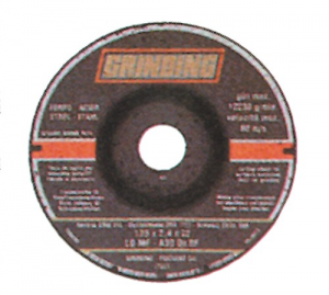 Disco Grinding Per Ferro Mm 125X6,4 Foro 22 Utensileria Manuale