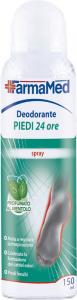 FARMAMED Piedi Deodorante 24H 150 Ml 05206 Cura Dei Piedi Pedicure