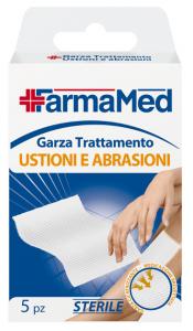 FARMAMED Garza Ustioni/Abrasioni 5 Pezzi 05226  Parafarmacia E Cura Della Persona