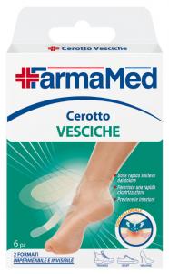 FARMAMED Piedi Cerotto Vesciche 2 Formati 6 Pezzi 05229 Cura Dei Piedi Pedicure