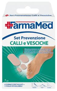 FARMAMED Piedi Cerotto Vesciche/Calli Set Prevenzione 05227 Cura Dei Piedi Pedicure