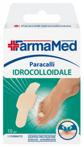 FARMAMED Piedi Cerotto Paracalli Idrocolloidale 10 Pezzi 05235
