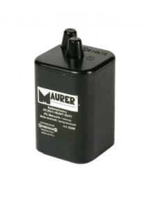 Batteria 6 Volts Per Lampade - 0% Mercurio Edilizia Segnaletica Sicurezza