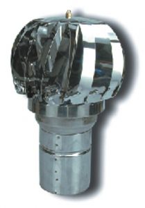 Aspiratore Eolico A Turbina-Inox 304 Cm 15 Riscaldamento