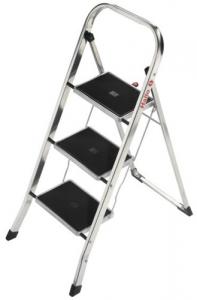 Scaletta Alluminio Hailo 439380 3 Gr.En14183 Ferramenta