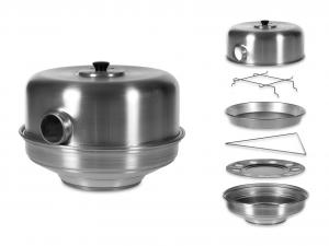 AGNELLI Forno alluminio conocchio cm35 Elettrodomestici per la casa