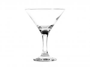PASABAHCE Set 12 Calici Vetro Bistro Martini 15Cl Calici Vino Arredo Tavola