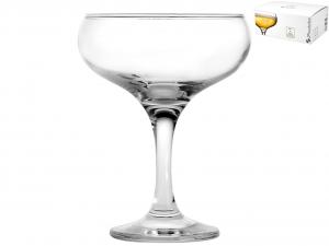 PASABAHCE Set 6 Coppa Vetro Bistro Champagne 27 Servizio Arredo tavola