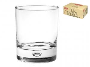 PASABAHCE Set 6 Bicchieri In Vetro Centra O.F. Cl33 Calici Vino Arredo Tavola
