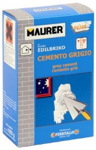 EDILBRIKO Set 12 Cemento Grigio Edilbriko Scatola Kg 1 Colori Fa Da Te - Casa