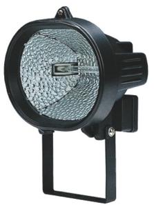 Proiettore Alogeno Ovale Con Staffa 120 Watt Materiale Elettrico
