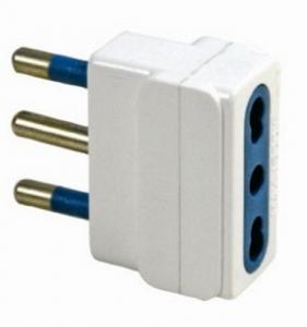 MAURER Adattatore Semplice Spina Presa Bipasso 16A Materiale Elettrico Civile