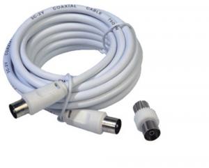 MAURER Prolunga Tv-Vcr Mt 2 Con Adattatore Materiale Elettrico Civile