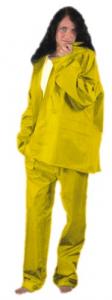 Completo Da Lavoro Poliestere/Pvc Giallo Taglia Xxl Antinfortunistica Protezione