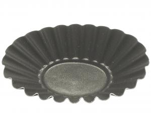 VESPA Conf. 6 formine antiaderente riccia ovale cm9 Pasticceria