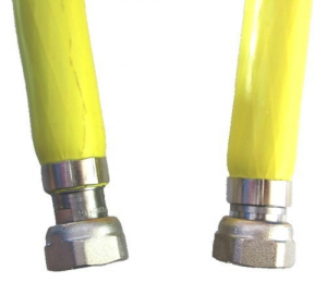 MAURER Tubo Flessibile Per Gas Uni En 14800 Cm 100 Femmina Femmina Idraulica