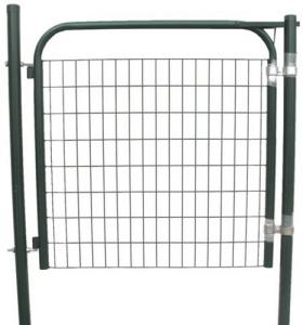 Cancello Pedonale Papillon Verde Pincio Cm 100X120H Recinzioni-Chiodi