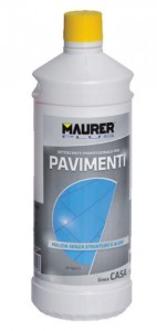MAURER PLUS Detergente Lavapavimenti Lt 1 Colori Pulizia Casa