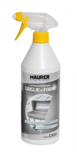 MAURER PLUS Detergente Griglie Forni Ml 750 Colori Pulizia Casa