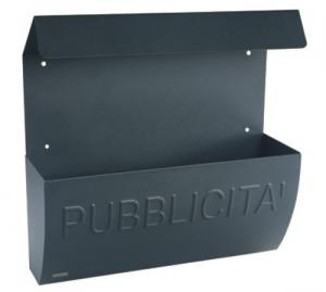 MAURER Cassetta Antracite Pubblicità Con Tetto Cm 38X10X35 Ferramenta