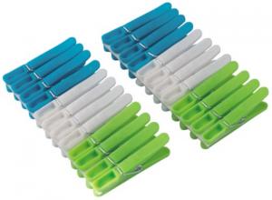 Mollette In Plastica Per Bucato Confezione 24 Linea Pulizia Casa