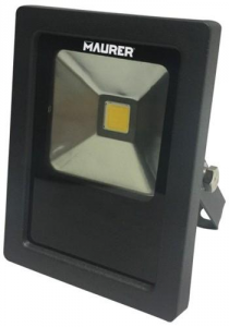 MAURER Proiettore Led Con Staffa 750 Lumen 10 Watt