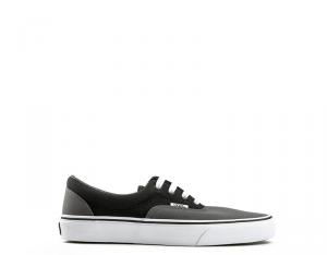 VANS Sneakers donna peltro/nero con tomaia in tessuto Scarpe e Calzature