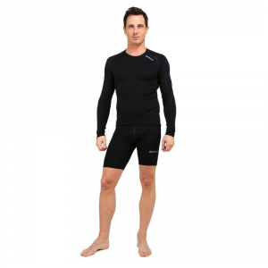 BRIKO Shorts pantaloni corti invernali traspiranti uomo CORELIGHT nero 100062