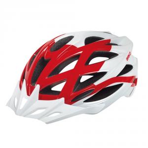 BRIKO Casco ciclismo mountain bike unisex MOUNTAINSTAR bianco rosso 100196