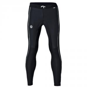 BRIKO Pantaloni invernali nordic walking uomo TRAINING TIGHT nero bianco 100429