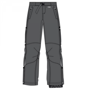 BRIKO Pantaloni invernali uomo nordic walking PERFORMANCE SHELL graffite 100457