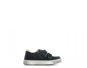 BYBLOS DUCATI Sneakers Trendy bambini blu con tomaia in scamosciato Unisex
