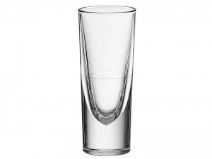 BORGONOVO Set 6 Bicchieri vetro rocky con rigo Arredo Tavola