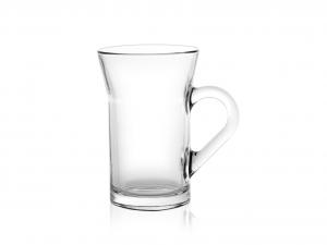 BORGONOVO Bicchiere vetro con manico ceylon trasparente Arredo Tavola