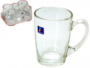 ARC Set 6 Tazzone Mug Newmorning Trasparente32 Preparazione Arredo Tavola
