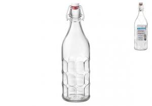 BORMIOLI ROCCO Set 6 Bottiglie per Acqua Frizzante Maresca da 1 lt
