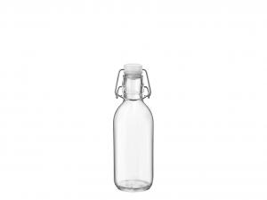 BORMIOLI ROCCO Set 12 Bottiglia Vetro Emilia Lt 0,5 Tappo Bianco