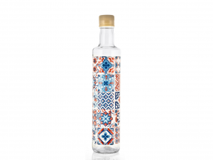 CHIO Set 6 Bottiglia Olio Decoro Maiorca Lt0,5