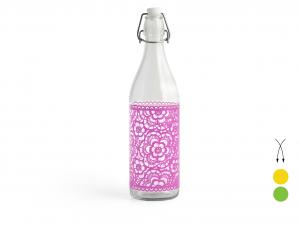 CERVE Set 6 Bottiglia Vetro Mondello Colore Ass Lt1 Arredo Tavola